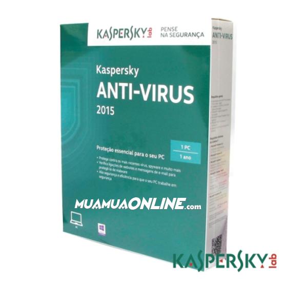 Phần Mềm Diệt Virus Kaspersky Anti-Virus 1Pc/12T Chính Hãng