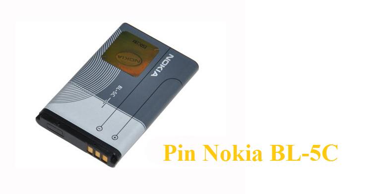 Pin Nokia Bl-5C Loại Tốt 2IC