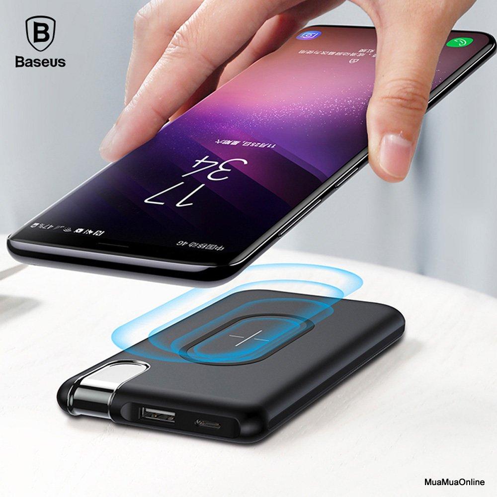 Pin Sạc Dự Phòng Baseus X Lighting Lv268 Cho Iphone 8/ Iphonex/ S8/s9/n8/n9 10,000Mah