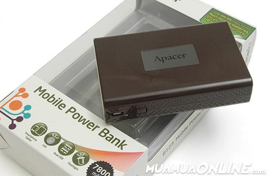 Pin Sạc Dự Phòng Apacer B123 7800 Mah