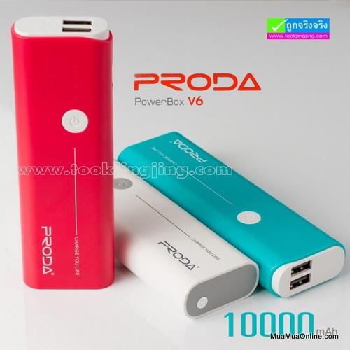 Pin Sạc Dự Phòng Remax Proda 10000Mah Chính Hãng