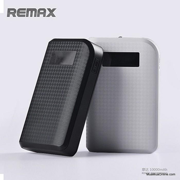 Pin Sạc Dự Phòng Remax Proda 10000Mah Có Lcd Chính Hãng