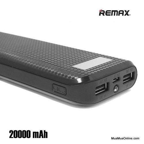 Pin Sạc Dự Phòng Remax Proda 20000Mah Có Lcd Chính Hãng