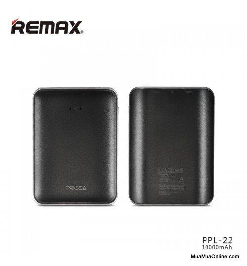 Pin Sạc Dự Phòng Remax Proda Mink Ppl-22 10000Mah Chính Hãng