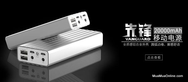 Pin Sạc Dự Phòng Remax Vanguard 20000Mah Chính Hãng