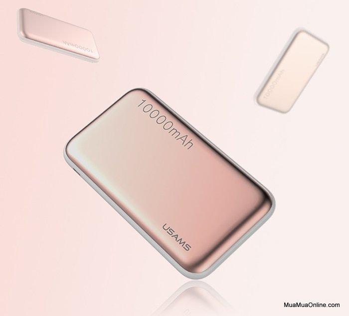 Pin Sạc Dự Phòng Usams Cube 10000Mah Chính Hãng