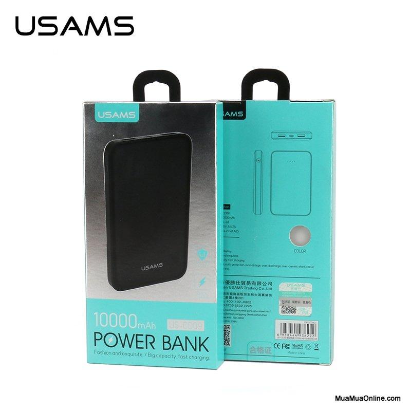 Pin Sạc Dự Phòng Usams Us-Cd09 10.000Mah