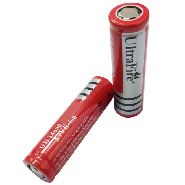 Pin Sạc Ultrafire 18650 Li-Ion Cao Cấp