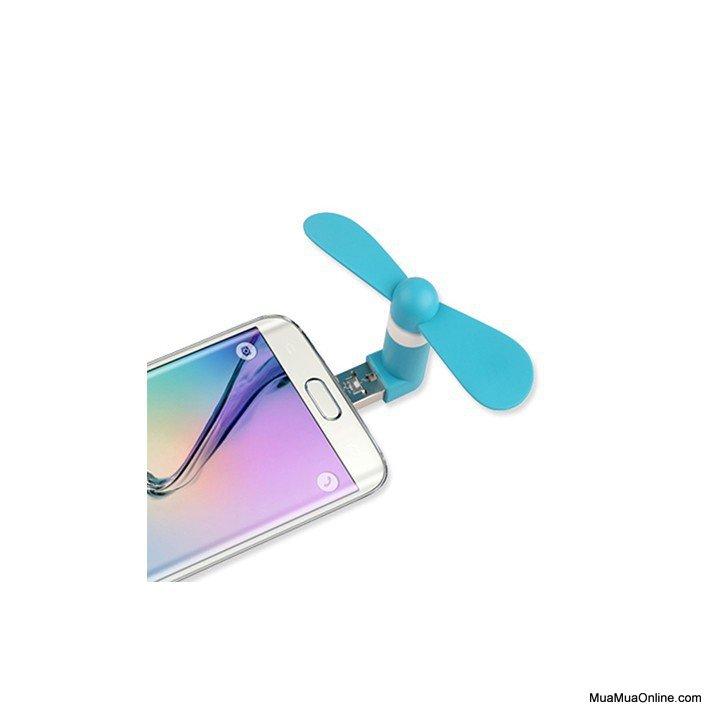 Bộ 2 Quạt Mini 2 Cánh Cắm Nguồn Usb + Samsung