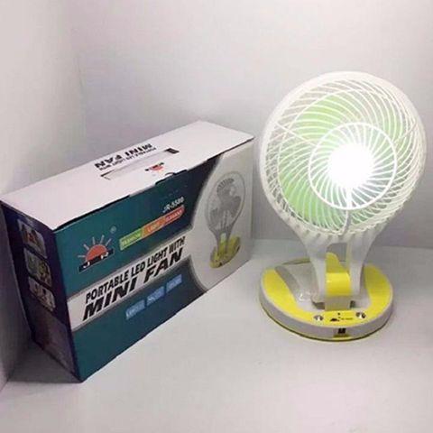 Quạt Sạc Điện Kiêm Đèn Pin Mini Fan 5580 Cao Cấp