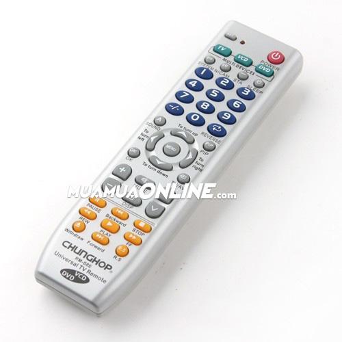 Remote Tivi Đa Năng Chunghop Rm-88E Dùng Được Cho Đầu Dvd Và Vcd