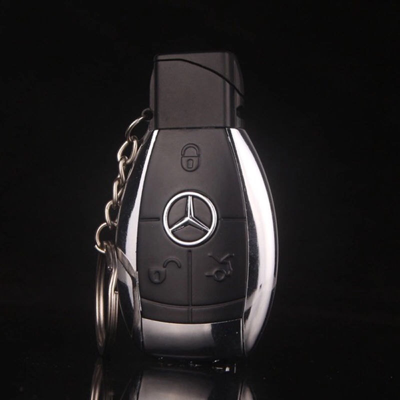 Hôp Quẹt Bật Lửa Móc Khóa Mercedes-Benz
