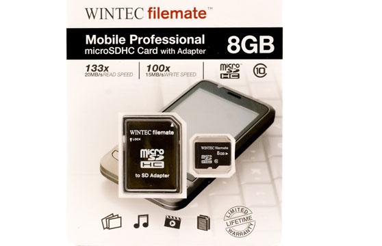 Thẻ Nhớ Wintec Microsd 8G Chính Hãng