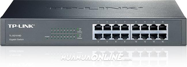 Switch Tp-Link 16 Port Gigabit Tl-Sg1016D 1000Mbps Chính Hãng