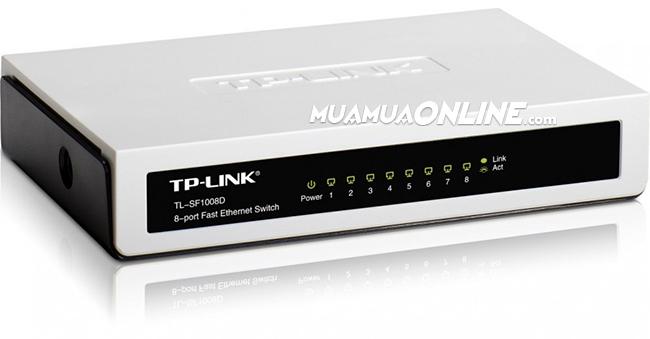 Switch Tp-Link 8 Port 100Mbps Chính Hãng