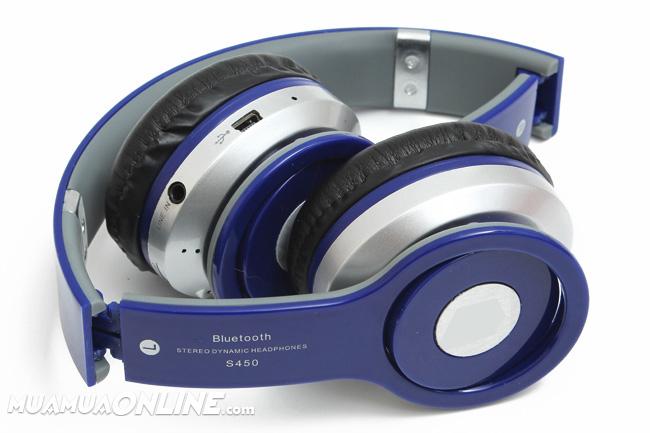 Tai Nghe Bluetooth S450 Cao Cấp