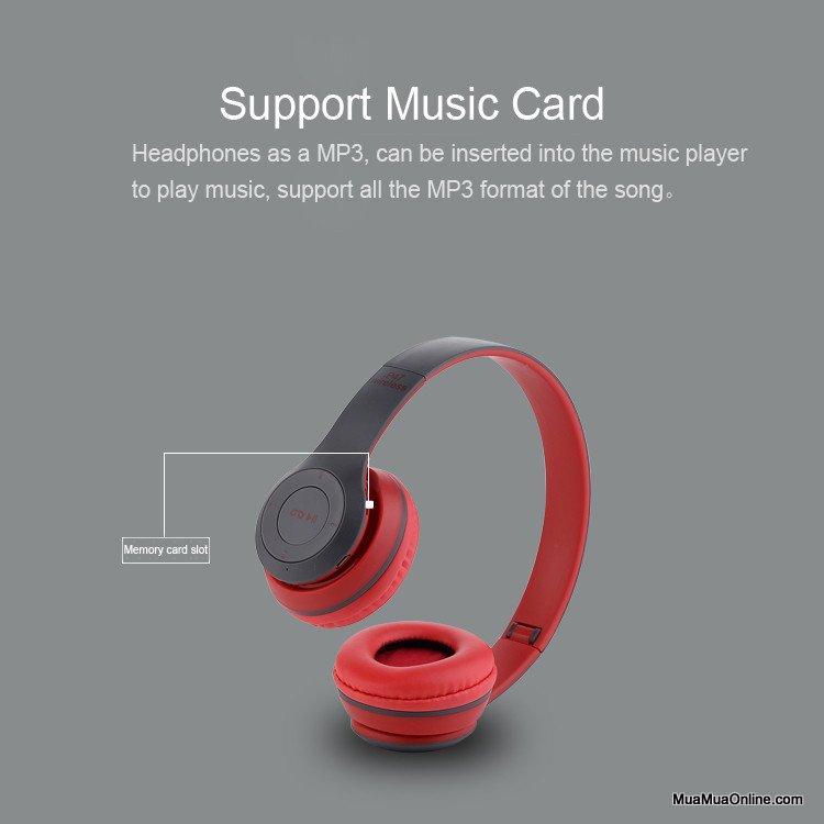 Tai Nghe Bluetooth Chụp Tai P47