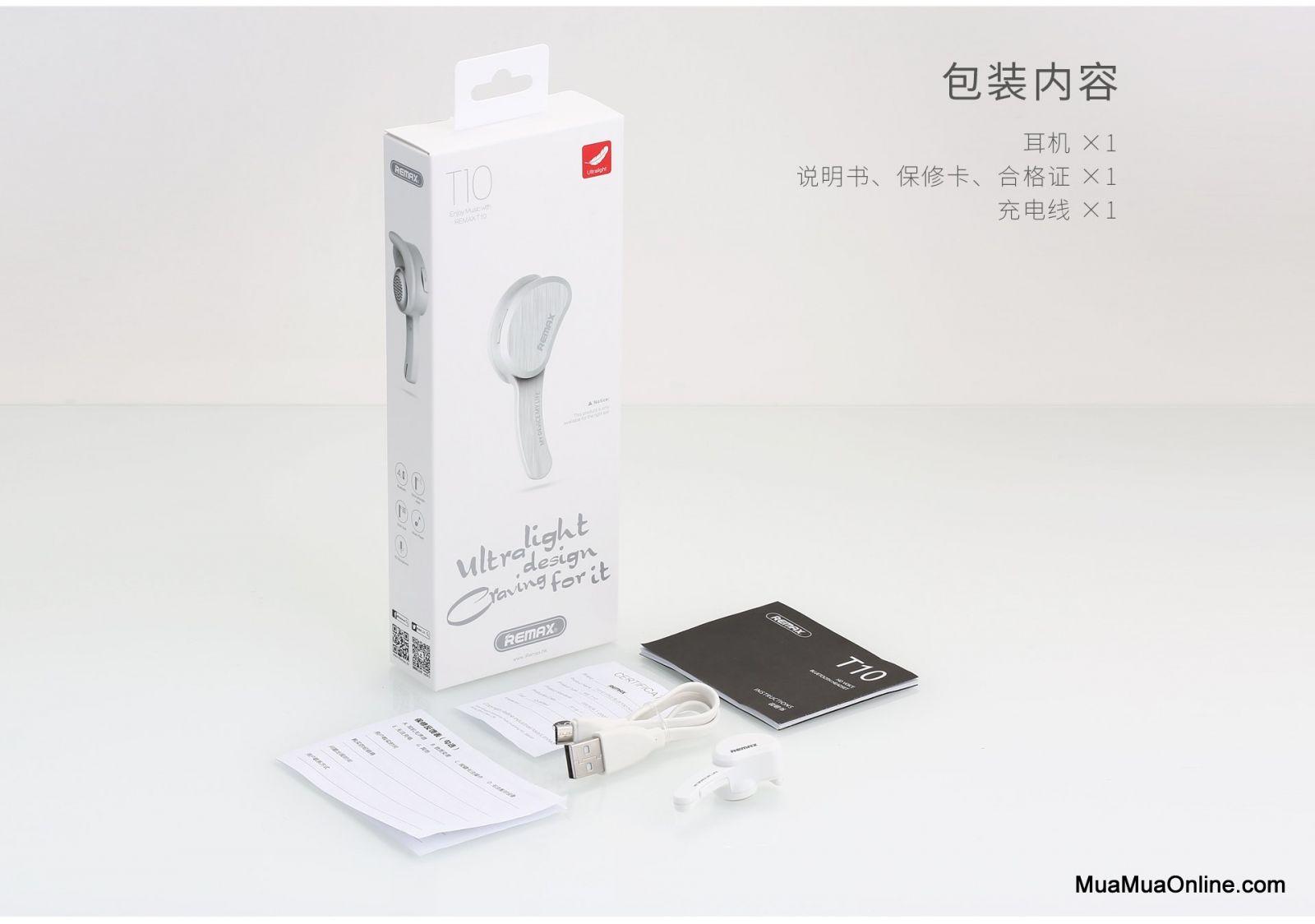 Tai Nghe Bluetooth V4.1 Remax Rb-T10