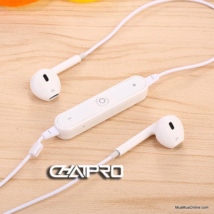 Tai Nghe Bluetooth Sport Amw S6 Kiểu Dáng Iphone