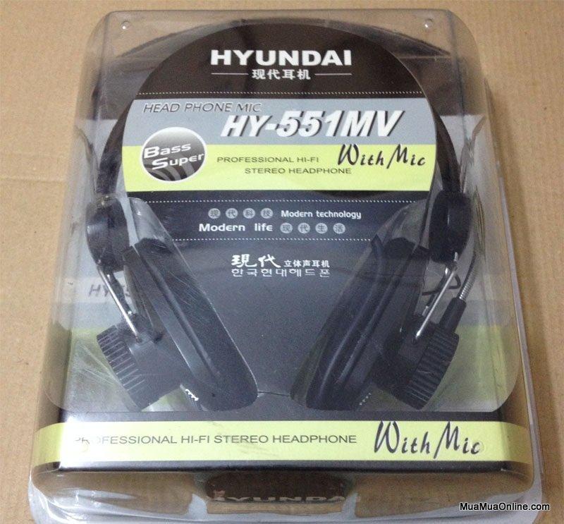 Tai Nghe Headphone Huyndai Hy-551Mv