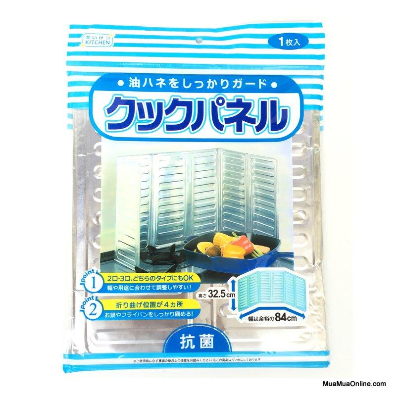 Combo 2 Tấm Chắn Chống Dầu Mỡ Và Gió Cho Bếp Ga Nhật Bản