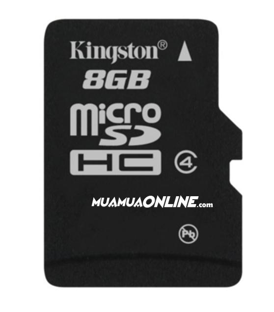 Thẻ Nhớ Micro Sdhc Kingston 8Gb Class 4 Chính Hãng