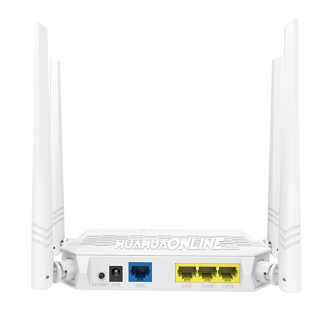Thiết Bị Modem Phát Sóng Wifi Tenda Fh330 300Mbps 4 Ăng Ten Chính Hãng
