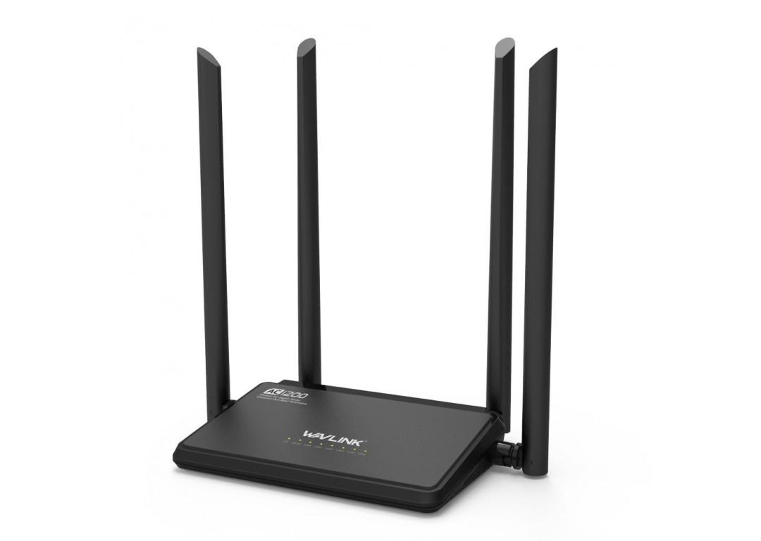 Thiết Bị Phát Sóng Wifi Wavlink Ac1200 Ws-Wn529A3 2.4G - 5G