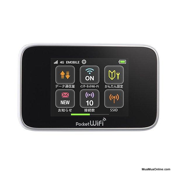 Bộ Phát Wifi Từ Sim3G, 4G Huawei Emobile Gl10P Tốc Độ Cao Chính Hãng