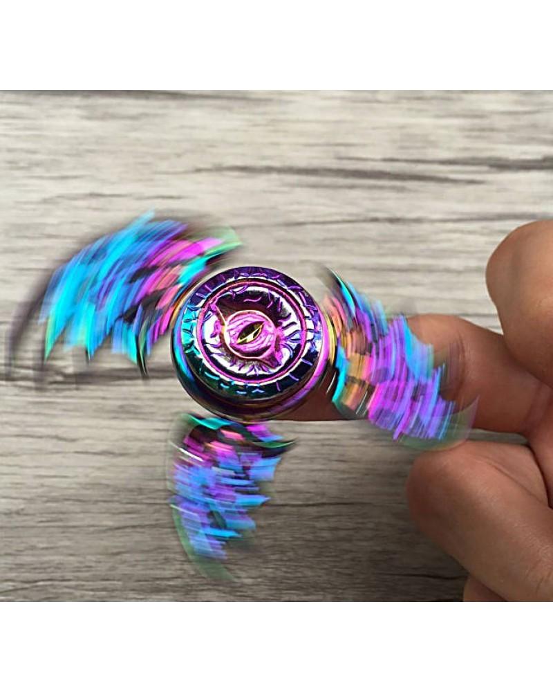 Trò Chơi Con Quay 3 Cánh Dơi Mắt Quỷ Dạ Quang Torqbar Hand Spinner