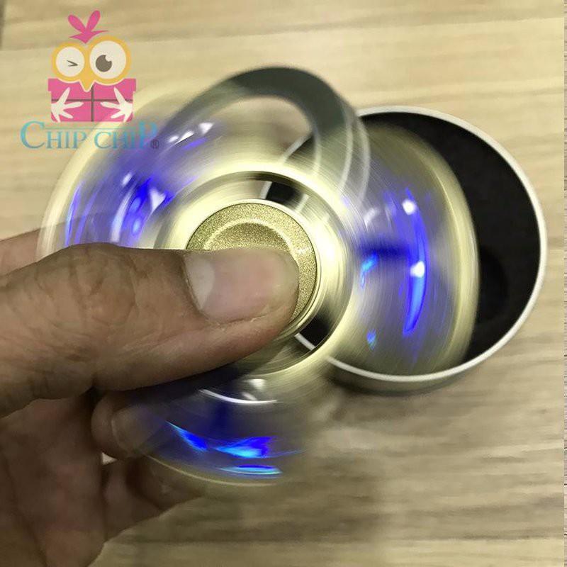 Trò Chơi Con Quay 3 Cánh Đồng Kim Cương Torqbar Hand Spinner