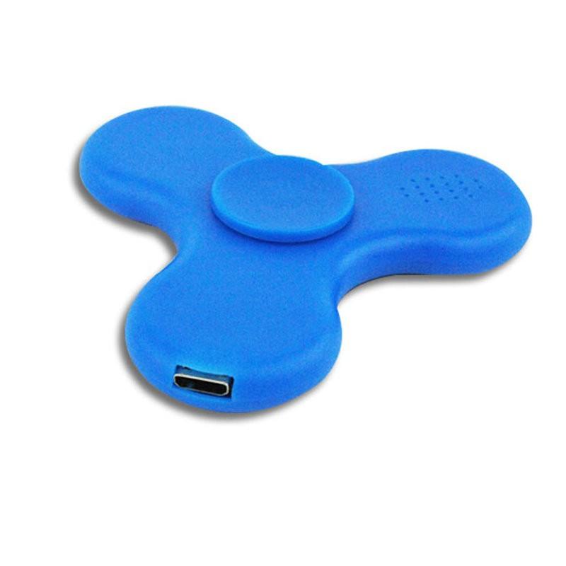 Trò Chơi Con Quay 3 Cánh Nghe Nhạc Có Bluetooth Và Led 7 Màu