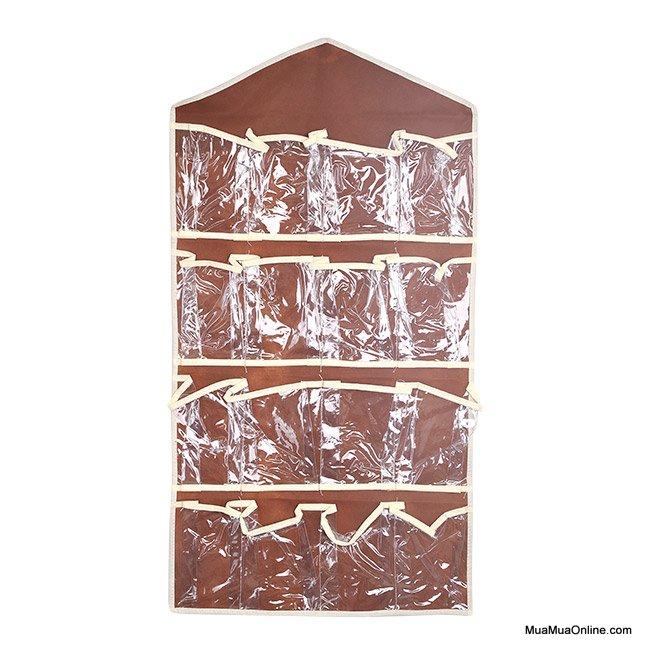 Túi Treo Tường 16 Ngăn Đựng Đồ Đa Năng