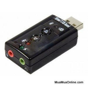 Usb Ra Sound 7.1 3D Chanel Apple Ra 2 Lỗ