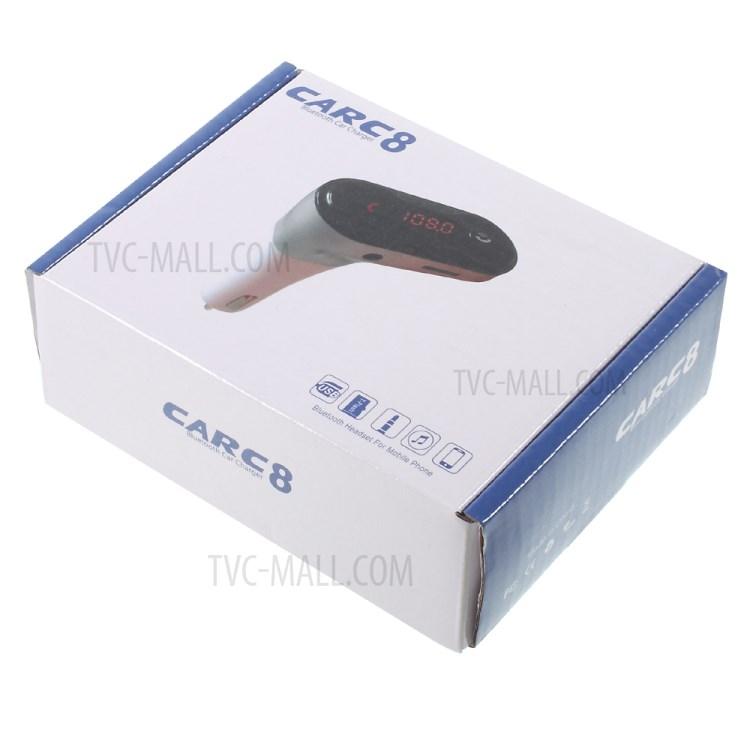 Usb Bluetooth Carc8 5In1 Trên Xe Hơi, Ô Tô Cao Cấp