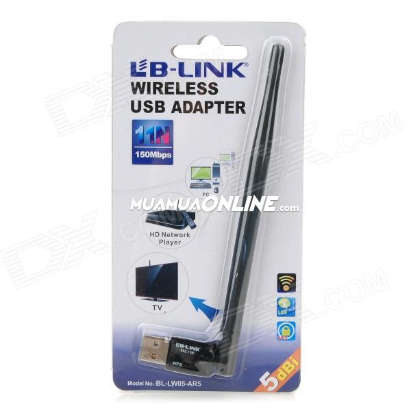 Usb Thu Bắt Sóng Wifi Lb-Link Ar5 150Mbps Chính Hãng