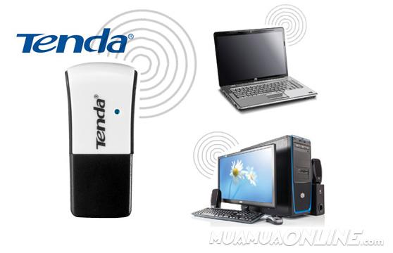 Usb Thu Bắt Sóng Wifi Tenda Chuẩn Nano 150Mbps